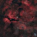 IC1318 HOO w RGB stars,                                xordi