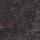 Grand champ autour de la comète 21P/Giacobini-Zinner le 22/07/2018 (comet wide field),                                Laurent3112