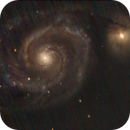 Whirlpool Galaxy - ASI224MC Experiment,                                Chappel Astro