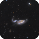 ngc 5395 / Arp 84,                                noodle