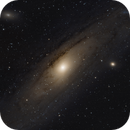 M31, first Andromeda from backyard,                                Gianluca Galloni