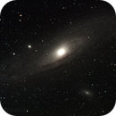 M31 Andromeda Galaxy from deep in the red zone. ,                                Blaise Baldeschwiler