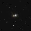 M51 Whirlpool Galaxy 20200323 10176s 03.8.5,                                Allan Alaoui