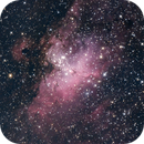 M16 the Eagle Nebula,                                Scotty Bishop
