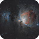 M42 - Orion Nebula and Running Man,                                dheilman