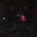 IC2944 - Running Chicken Nebula,                                Cluster One Observatory