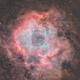 Rosette nebula HaRGB,                                s1macau