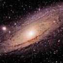 Andromeda Galaxy M31,                                Stefan Böckler