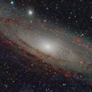 The Andromeda Galaxy,                                Michael Kalika