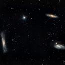 Leo Trio (M65, M66, NGC 3628),                                Gary Lopez