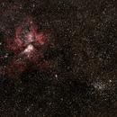 Eta Carina Nebula and Wishing Well Cluster,                                Geoff Scott