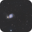 Galaxie du Tourbillon - M51,                                Ludovic