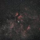 Cygnus nebula complex around Sadr,                                Janos Barabas