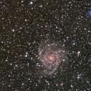 Hidden Galaxy IC342 / Maffei group,                                Kees Scherer