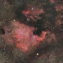NGC 7000,                                James Yang