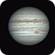 Jupiter in good seeing,                                Robin Clark - EAA...
