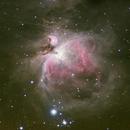 M42 The Great Orion nebula,                                Komet
