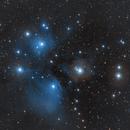 M 45 - Pleiades (07 Nov 2020),                                Bernhard Suntinger