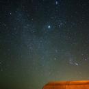 Pleiades and Orion,                                Adel Karimi