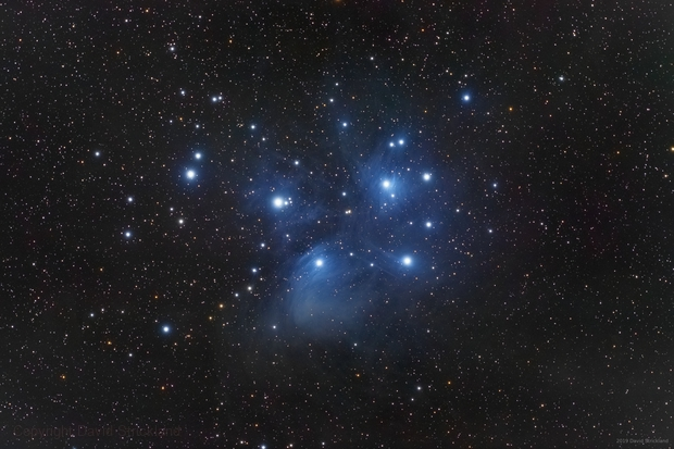 Pleiades Open Cluster,                                stricnine