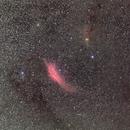 California nebula and Pleiades,                                Christian Dahm