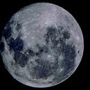 una luna piena,                                Carlo Colombo