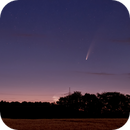 Stars and comet C/2020 F3 (Neowise) over the Münsterland,                                Wolfgang Zimmermann