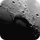 Long shadows in Sinus Iridum - August 14, 2020,                                Loxley