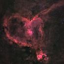 Heart Nebula in Bicolor,                                Anis Abdul