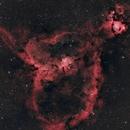 The Heart Nebula,                                Eye@inthesky
