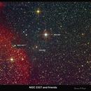 NGC 2327 and friends,                                Lawrence E. Hazel