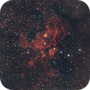 NGC 6357-Nebulosa Guerra e Pace,                                Maura Ingrosso