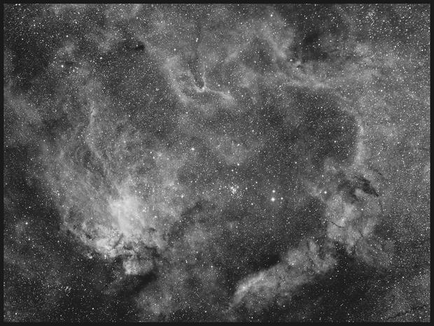IC 4628 - Prawn Nebula and NGC 6231 - False Comet or Northern Jewel Box,                                Newton Cesar Flor...