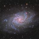 M33 - the Triangulum Galaxy,                                Andreas Eleftheriou