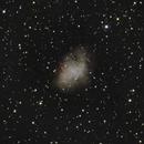 M1 - Crab Nebula,                                Doug_Bock