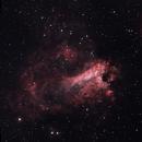 M17 Omega Nebula LRGB,                                ONUR AKARSU