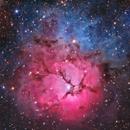 M20 Trifid Nebula,                                astro_m