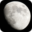 Moon from 2017-07-04 with MTO 1000 F/10 Mirrorlens,                                Norbert Reuschl