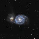 M51 Whirlpool Galaxy,                                jakecru