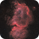 IC1848 First Real Image With ASI6200MM,                                Astrovetteman