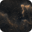 The Ghosts of Cassiopeia - IC 59 & IC 63,                                Drew Lanphere