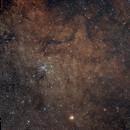 Messier 7 - Widefield (135 mm),                                Wolfgang Zimmermann