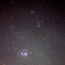 Lagoon and Trifed Nebula,                                Dylan Woodbrey