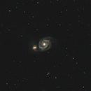 #070 M51, NGC 5195,                                Hubble_Trouble