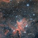 The center of Heart Nebula,                                Kai Albrecht