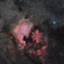 NGC 7000 OSC+H-alpha,                                Jenafan
