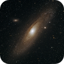 Messier 31, My first successful image of a Deep Sky Object,                                Björn Arnold