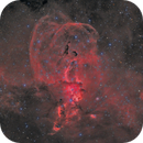 NGC 3576 The Statue of Liberty Nebula,                                Michel Lakos M.