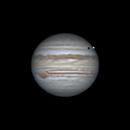 Europa Transiting Jupiter on June 15, 2019,                                JDJ