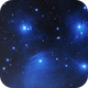 Flawed image of Pleiades,                                stricnine